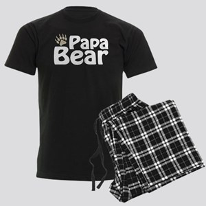 Papa Bear Claw Men's Dark Pajamas